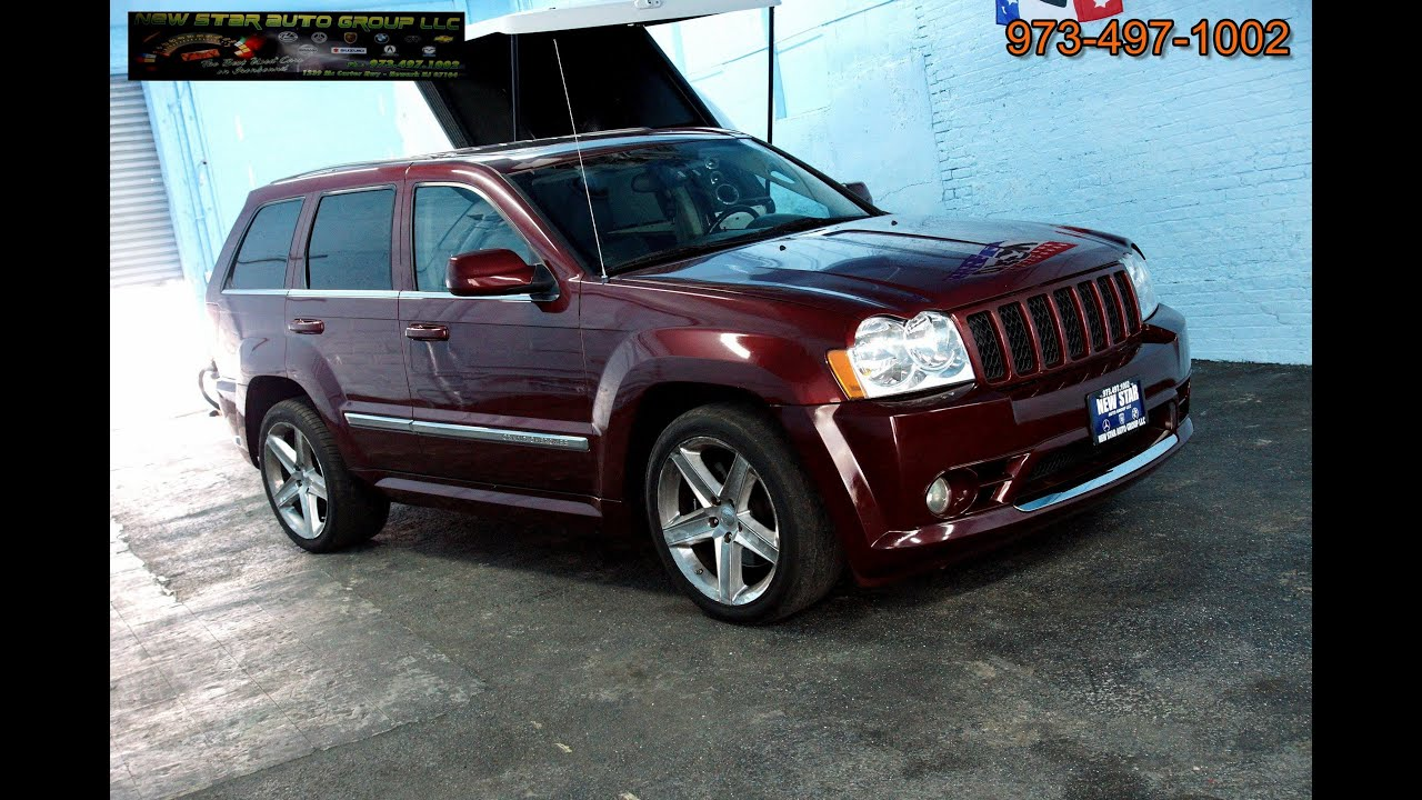 2007 Jeep Grand Cherokee SRT 8 6.1 Hemi V8 AWD   YouTube