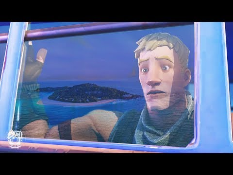 WHEN THE BATTLE BUS GOES TO THE WRONG ISLAND... (A Fortnite Short Film)