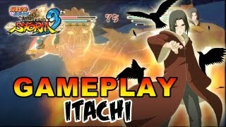 Naruto Shippuden Ultimate Ninja Storm 3 - X360 / PS3 - Itachi Gameplay