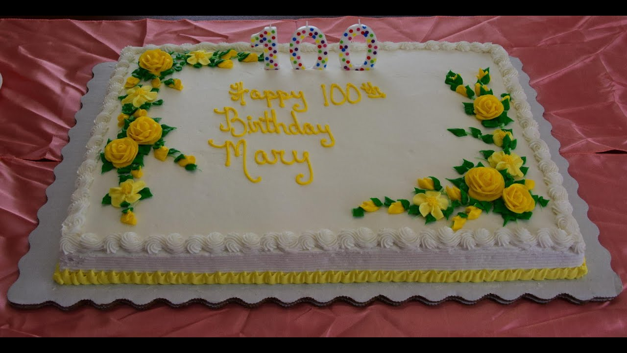 Happy 100th Birthday Mary Louise Cook Youtube