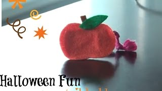 DIY How to Make a Cute Pumpkin Ponytail Holder for Girls Thumbnail