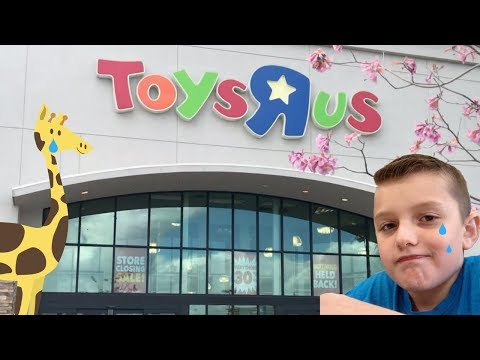 Farewell Toys R Us going out of business