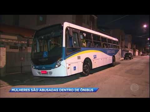 Homem é preso acusado de abusar de mulheres em ônibus