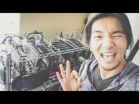 Cleaning Our Cryptocurrency Mining Rigs | Las Vegas, Nevada