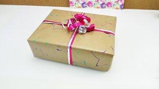 Geschenke einpacken | super einfache Grundlagen Anleitung | Weihnachten, Geburtstag, Hochzeit | DIY