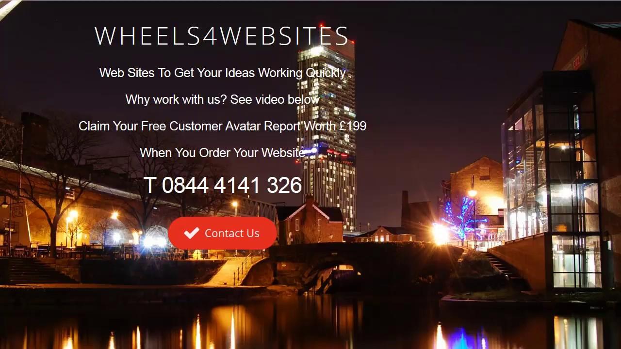 Web Design Walkden And Worsley Manchester M28 Wheels4WebSites v5