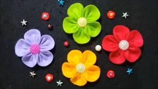 #souvenir#brooch#flower#felt#hairpin diy, flanel, kerajinan tangan, craft, cara menjahit bagian sudut bagaimana agar jahitan flanel rapi, tips mudah ...