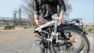 tern eclipse s11i folding bike   fully loaded