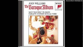 Sonata in E Major, K 380 L 23 - Scarlatti - John Williams