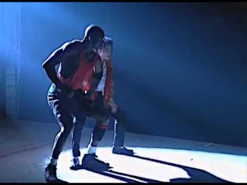 Michael Jordan In Making Of Videoclip Michael Jackson - Jam (1992)