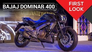 Bajaj Dominar 400 | First Look | ZigWheels