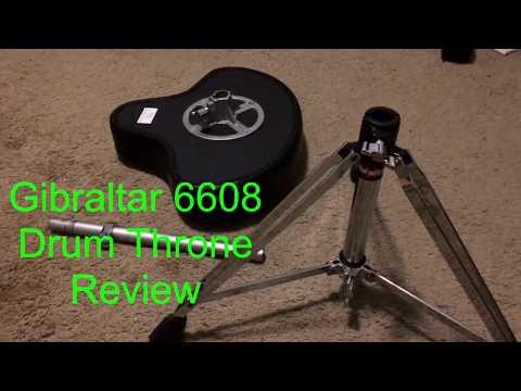 Gibraltar 6608 Motorcycle Style Drum Throne