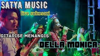 Umbul umbul Blambangan Della monica cover Satya music live sukosari