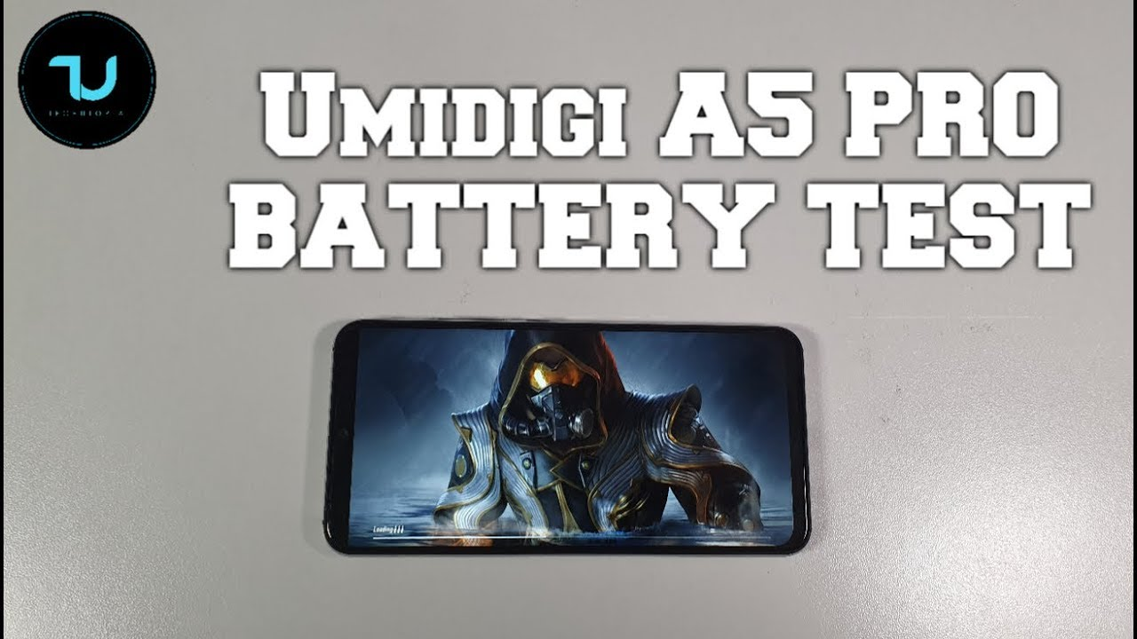 Umidigi A5 Pro Battery drain test/PUBG Mobile Gameplay! Screen on Time/Helio P23 in 2019