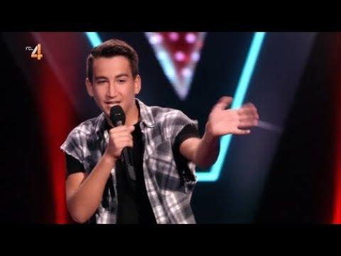 Reduan rapt samen met Ali B en Ilse DeLange | The Voice Kids 2018