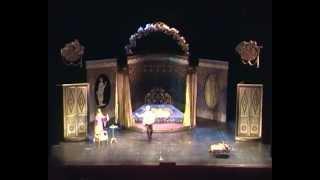"""Опера """"Свадьба Фигаро"""".Сцена из 2-го действия."""