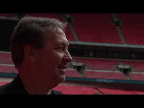 Kenny Sansom Interview at Wembley