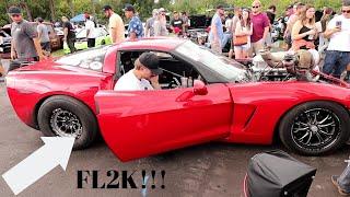 Ruby Lets Cleetus McFarland down at FL2K!!   + Adam LZ's Big turbo Toyota supra!