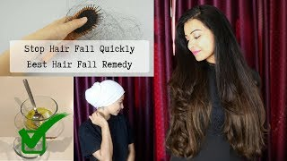DIY: Best Hair Fall Remedy to have thick hair! | Hair Fall Problem Solved