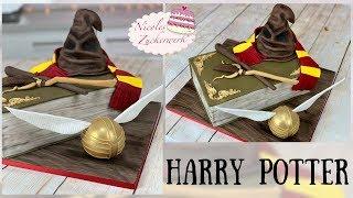 HARRY POTTER Motivtorte I meist GEWÜNSCHTESTE Torte I Fondant Torte von Nicoles Zuckerwerk