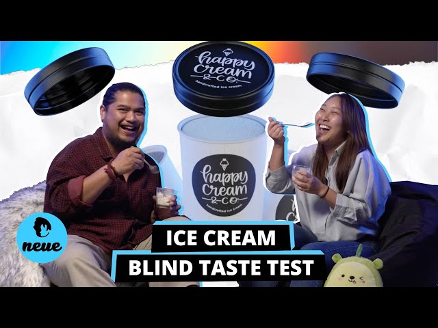 Ice-cream Blind Taste Test Brought To You By Happy Cream