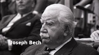 Founding fathers of the European Union: Joseph Bech