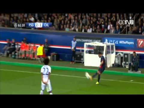 PSG vs Chelsea 2014 3-1 all goals and highlights 02/04/2014