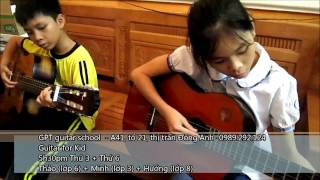 CÁT BỤI (guitar for kids)
