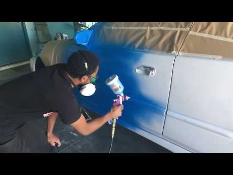 Rustoleum Sail Blue Civic - YouTube