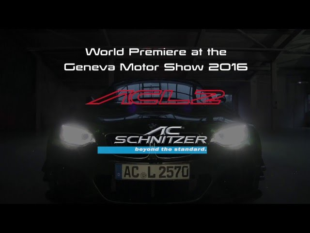 2016 Ac Schnitzer Acl2 Concept Top Speed