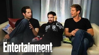 Video Chuck: Zachary Levi & Co. Talk With Michael Ausiello | Entertainment Weekly download MP3, 3GP, MP4, WEBM, AVI, FLV Juli 2018