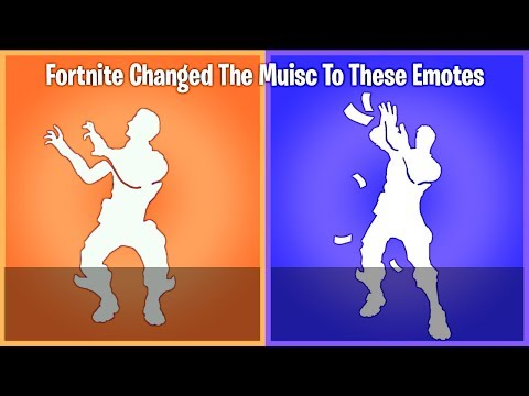 Fortnite Decided to change the music to all these dances and I have no idea why...