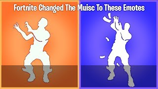Fortnite Decided to change the music to all these dances and I have no idea why... thumbnail