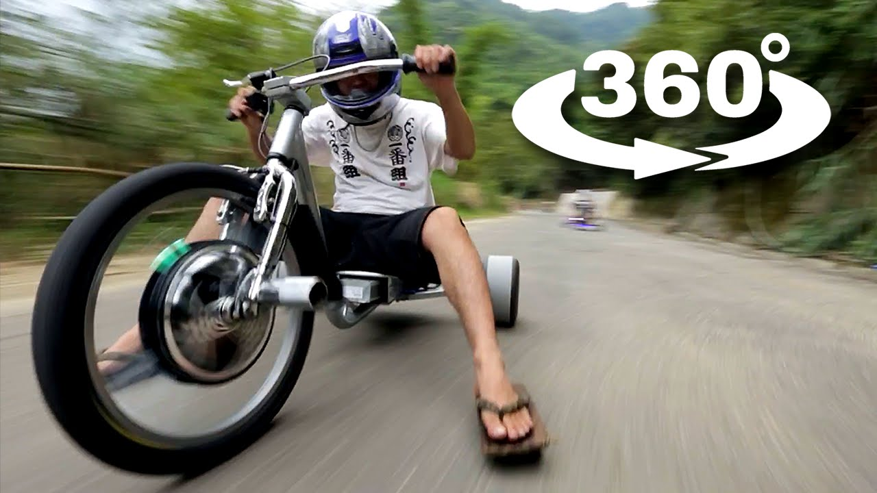 Video: Trike Drifting in 360°
