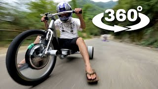 360° Video: Trike Drifting in 360°