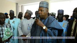 Governor Shettima inspects Maiduguri Central Mosque Project