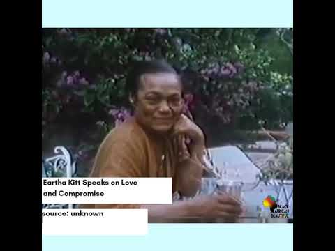 Eartha Kitt Speaks on Love and Compromise (Vertical Video )   @baabmedia