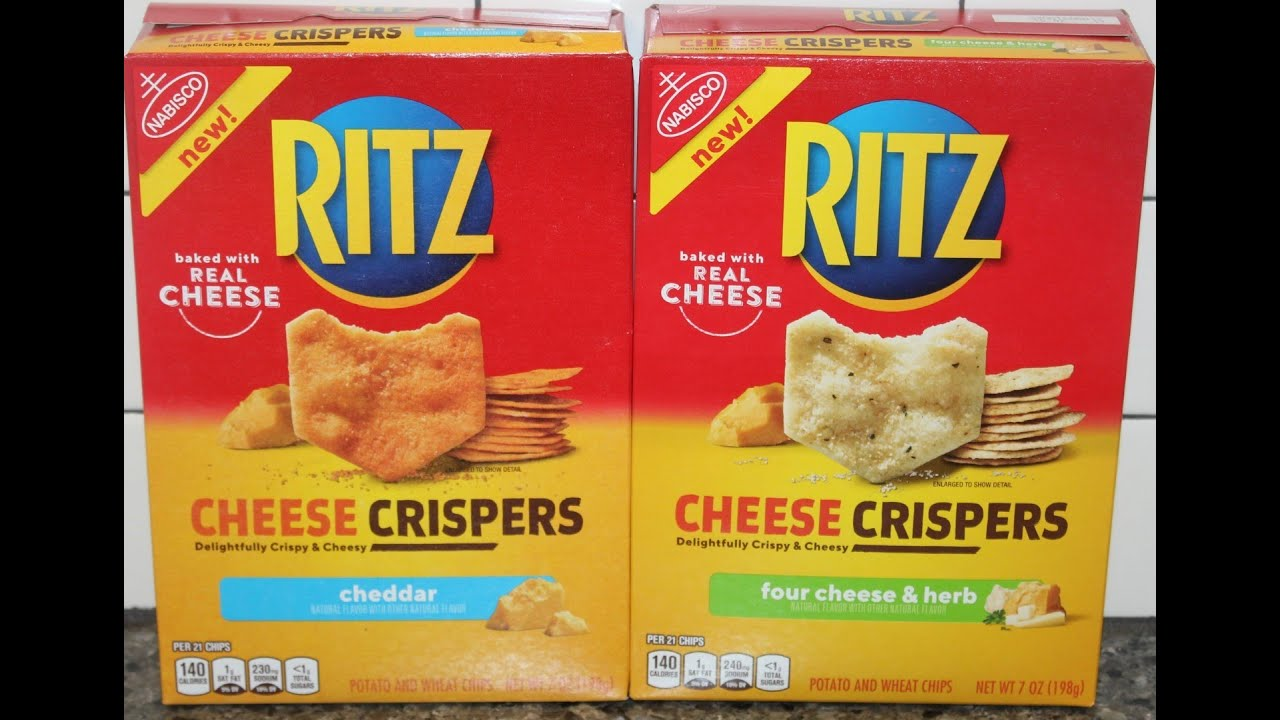 Ritz Cheese Crispers: Cheddar and Four Cheese & Herb Review