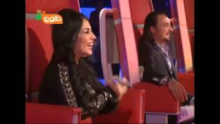 The Voice of Afghanistan very funny part ! comedy  Aryana sayeed