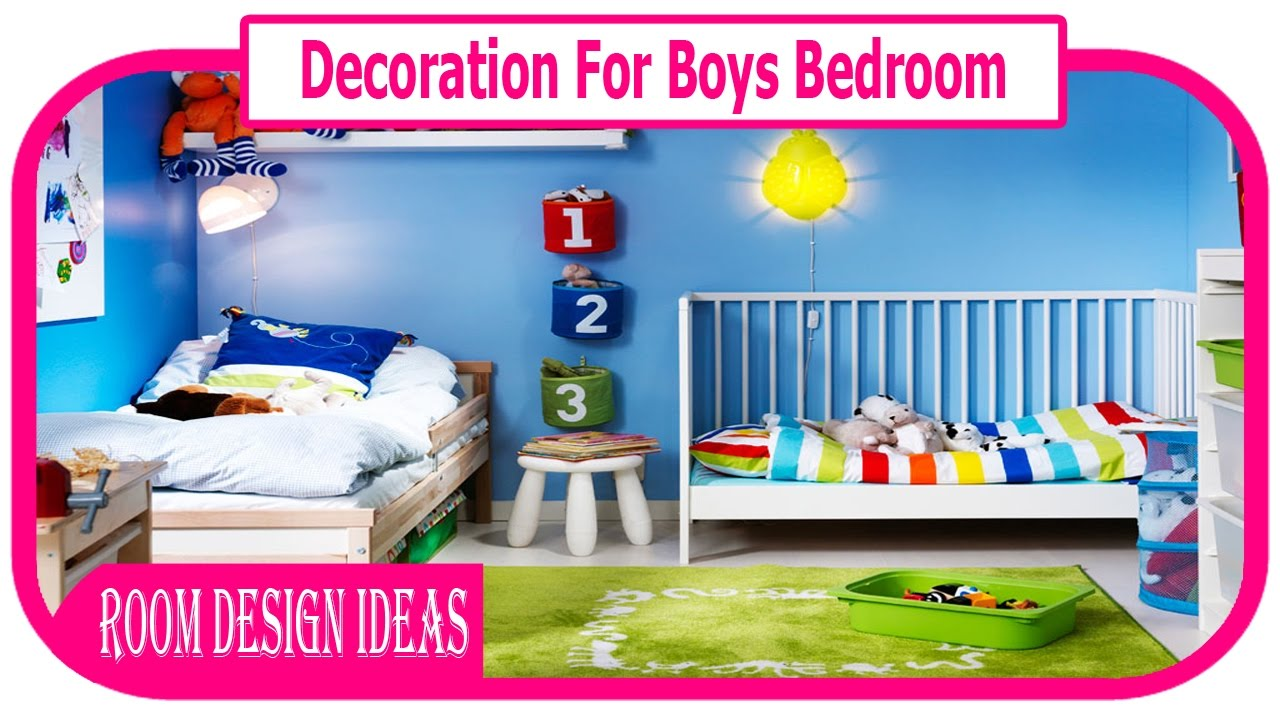 Gentil Decoration For Boys Bedroom   Boy Room Decorating Ideas   Diy Kids Room  Decorating Ideas For Boys