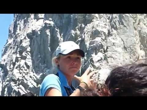 Visitando el arco en Cabo San Lucas, BJS, Mx.