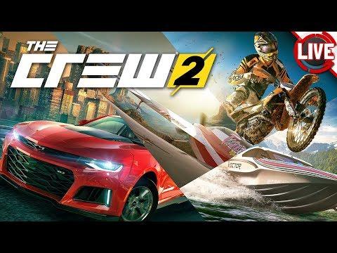 THE CREW 2 Beta - Multiplayer mit der Racing-Crew - The Crew 2 Livestream