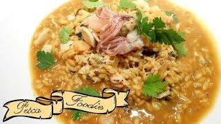 Seafood & Saffron Risotto | Pescafoodie ⚓ Episode 39