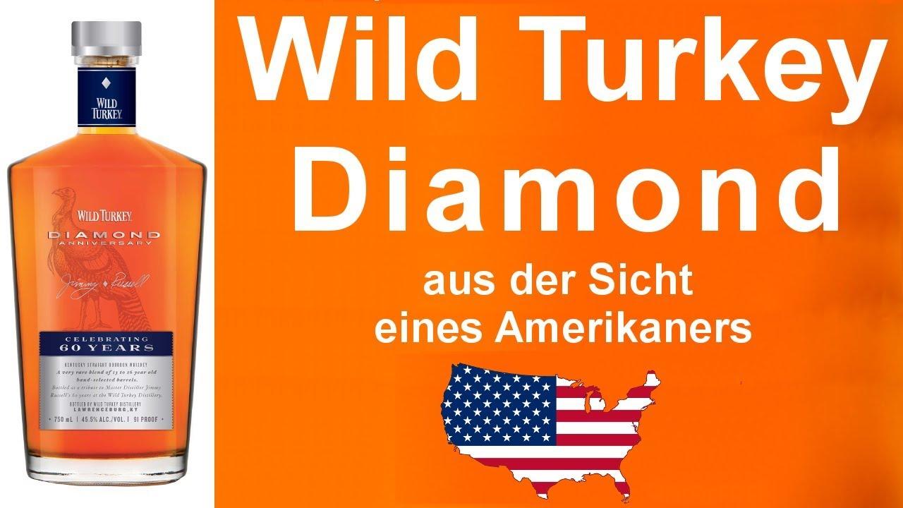 dc587b62dd1  496 - Wild Turkey Diamond Anniversary Bourbon Whiskey Verkostung von  WhiskyJason