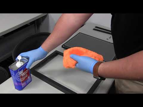 How to clean a C.E. Electronics Touch Screen