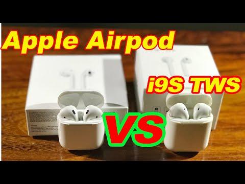 Apple Airpod vs i9s TWS Review | Original vs Fake | Review | 2018