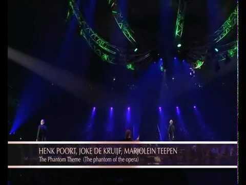 Phantom Of The Opera - Henk Poort, Joke de Kruijf en Marjolein Teepen - Musical Classics