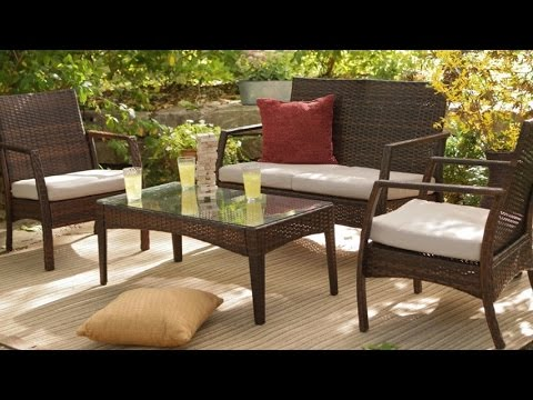 C Coast Parkville All Weather Resin Wicker Conversation Set Patio Furniture At Affordable Price