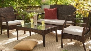 Coral Coast Parkville All Weather Resin Wicker Conversation Set Patio Furniture At Affordable Price