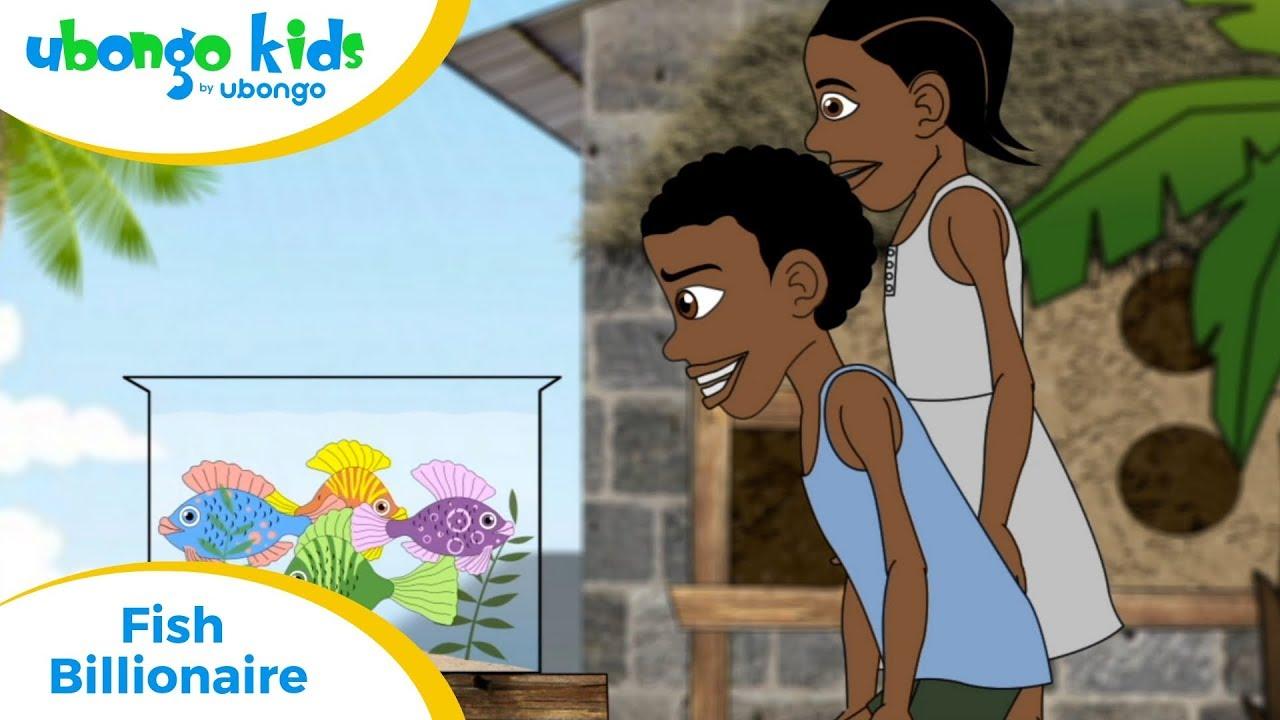 Full Episode #7: Fish Billionaire | Ubongo Kids | Educational Cartoons from Africa